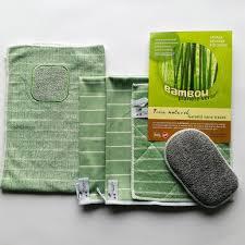 sorte de bambou ensemble lingettes microfibres à base de bambou bambou planète