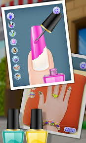 nail makeover girls games android apps on google play