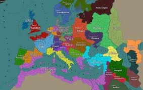 Prague Map Europe by I Made A Alternate History Europe Map 2285x1440 Imaginarymaps