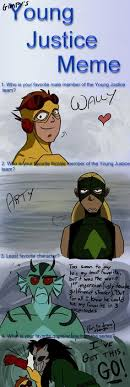 Yj Anon Meme - young justice babies young justice pinterest young justice