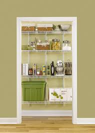 How To Organize A Pantry With Deep Shelves by Amazon Com Rubbermaid Fasttrack Pantry Kit White Fg3r16ftwht
