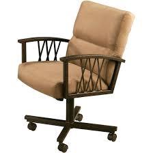 Dining Room Chair Casters Furniture Devon Coast 5 Piece 54 Inch Round Dining Room Set W