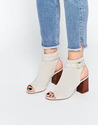womens boots kurt geiger kurt geiger carvela flat boots kg by kurt geiger ripple grey peep