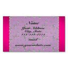 Monogram Business Cards Navy Wht Moroccan 5 Coral Red 3 Initial Monogram Magnetic