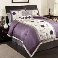 bedroom black grey and purple living room bedding for gray walls
