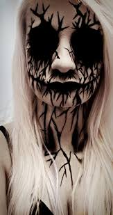 heart throbbing halloween makeup ideas that will scare the hell