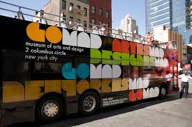 Art And Design London Mad Museum Of Arts And Design Identity U2013 Promotional Bus