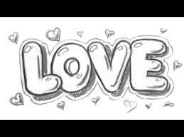 how to draw love in bubble letters write love in graffit letters