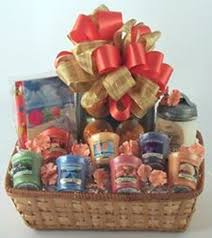 candle gift baskets candle paradise gift basket gifty baskets and flowers of hanover pa