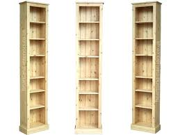 Tall Skinny Bookcase Bookcase Tall Wide Oak Bookcase 4 You Tall Narrow Bookcase In