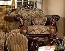 Leather And Fabric Living Room Sets Leather Fabric Living Room Furniture Khabars Net