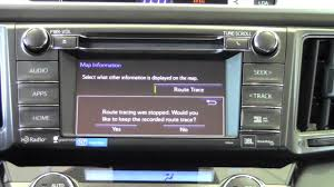 2014 toyota rav4 operate navigation map screen how to by