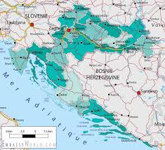 Map Of Italy And Croatia by Croatia Map