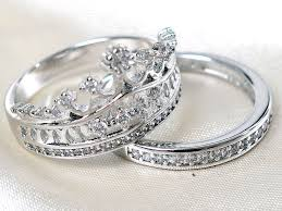 Crown Wedding Rings by Engagement Ring Set Picture More Detailed Picture About Size5 10