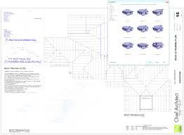 pseudo timber roof on concrete slab framing plan view youtube
