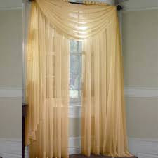Multi Colored Curtains Drapes Scarf Sheer Voile Door Window Curtains Drape Panel Valance