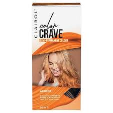 Apricot Color Color Crave Semi Permanent Hair Colour 60ml Apricot Superdrug