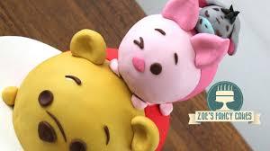 winnie the pooh cakes disney tsum tsum cake winnie the pooh piglet and eeyore