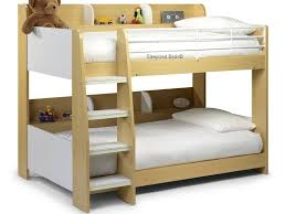 Julian Bowen Domino Bunk Bed With Side Shelf To Both Bunks - Mid sleeper bunk bed