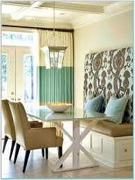 bedroom personable built table and bench features lamps with in