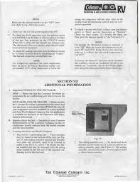 coleman mach 3 air conditioner manual ac gallery air
