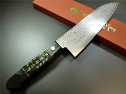 japanese kitchen knife damascus vg10 stainless steel santoku knife
