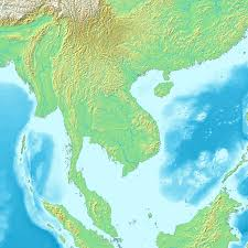 Asia Geography Map by Mainland Southeast Asia Wikipedia