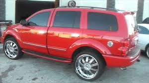 jeep durango 2008 dubsandtires com dodge durango on 24 flowmaster exhaust custom