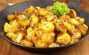 cuisiner pomme de terre pommes de terre sautées à l ail aux fourneaux