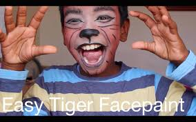 Tiger Halloween Makeup by Easy Tiger Without Facepaint Halloween Party Thuri Makeup