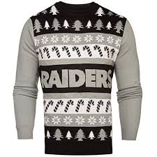 raiders christmas sweater with lights oakland raiders christmas lights cool oakland raiders fan gear