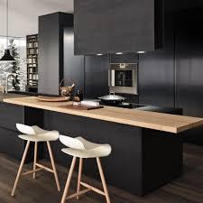 Black Kitchen Cabinet Handles by Unique Look With Black Kitchen Cabinets Artbynessa