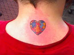 autism awareness for my son tattoo picture