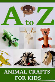 26 animal crafts you can make with your kids cool home and