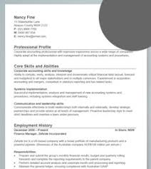 Plain Text Resume Example by Best Business Manager Resume Sample 2016 Finance Manager Resume