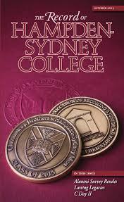 record of hampden sydney october 2013 by hampden sydney college