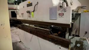 accurpress 76010 press brake youtube