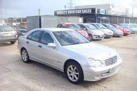 used mercedes benz c class petrol for sale motors co uk