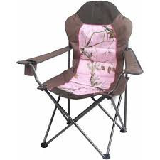 Baby Camping High Chair Ozark Trail X Realtree Xtra Deluxe High Back Padded Quad Folding