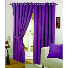 Purple Curtains Interior Decoration With The Purple Curtains Designinyou