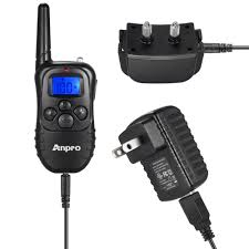 anpro dc 28 330 yds rechargeable remote dog training collar with