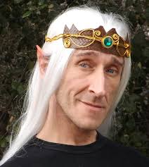prosthetic halloween mask elf king thranduil fairy cosplay larp lotr halloween latex