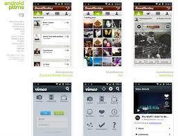 android gui designer mobile ui design patterns 10 for inspiration