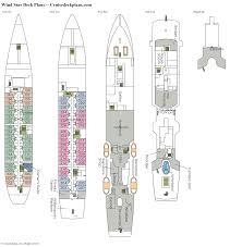 ship floor plans wind star deck plans diagrams pictures video