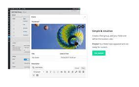 guide to working with visual logic torrent advanced custom fields u2014 wordpress plugins