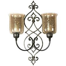 Nickel Candle Wall Sconce Uttermost Candle Wall Sconces Sconce Privas Oversized 8 Joselyn 15