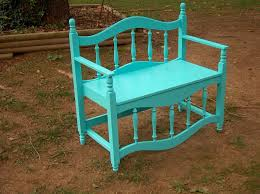Bed Frame Bench Bench Made From Bed Frame Outdoors Ii Pinterest Bed Frames