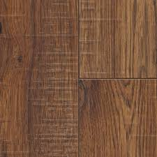 Laminate Flooring Installation Cost Home Depot Home Decorators Collection Distressed Brown Hickory 12 Mm Thick X
