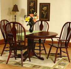 amish traditional dining bostonian amish table and chair set