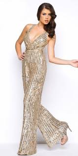 wide leg jumpsuit mac duggal semi fitted sequin wide leg jumpsuit where to buy